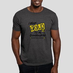 I Wear Gold For My Granddaughter 8 Dark T-Shirt