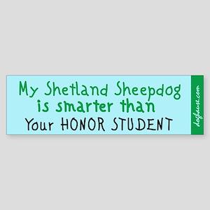 Sheland Sheepdog Bumper Sticker