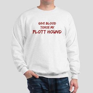 Tease aPlott Hound Sweatshirt