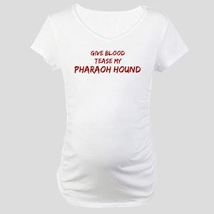 Tease aPharaoh Hound Maternity T-Shirt