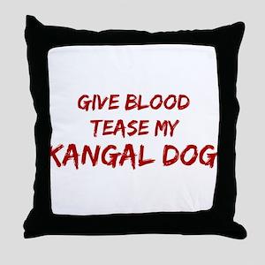 Tease aKangal Dog Throw Pillow