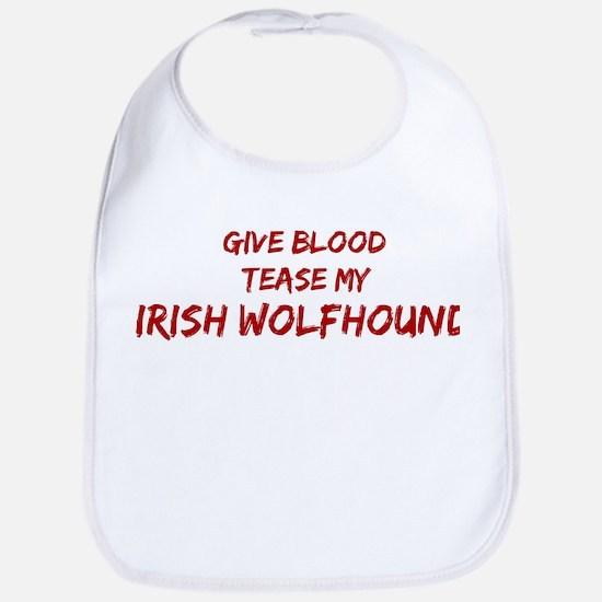 Tease aIrish Wolfhound Bib