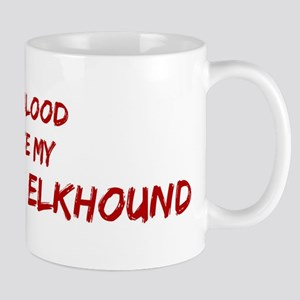 Tease aNorwegian Elkhound Mug