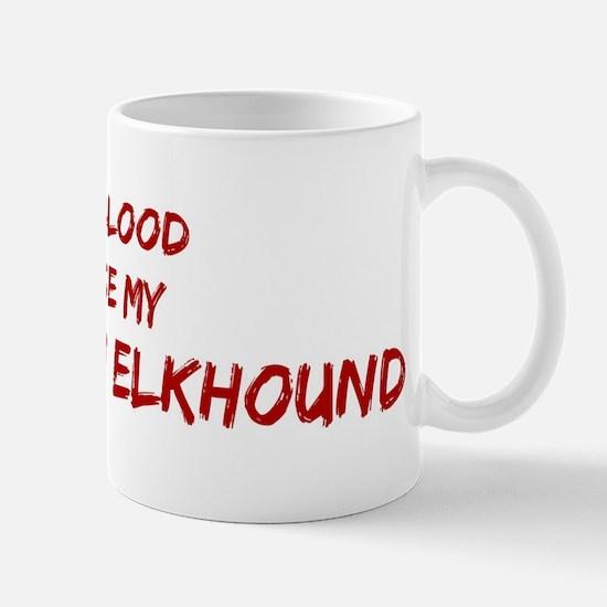 Tease aNorwegian Elkhound Mug