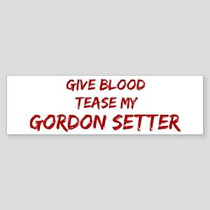 Tease aGordon Setter Bumper Sticker