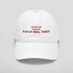 Tease aGlen of Imaal Terrier Cap