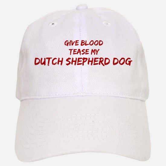 Tease aDutch Shepherd Dog Baseball Baseball Cap