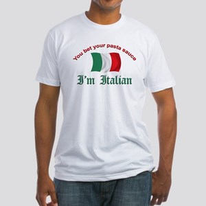Italian Pasta Sauce Fitted T-Shirt