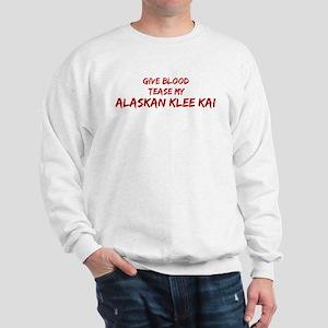 Tease aAlaskan Klee Kai Sweatshirt