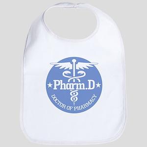 Caduceus Pharm.D Baby Bib