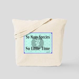So Many Species Tote Bag