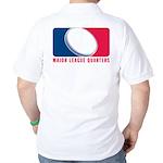 Major League Quarters (2 SIDED) Golf Shirt