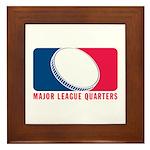 Major League Quarters Framed Tile