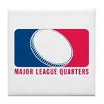 Major League Quarters Tile Coaster