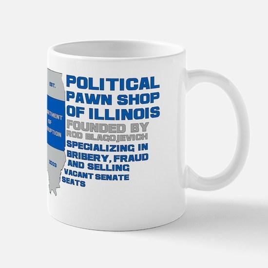 Illinois Political Pawn Shop Mug