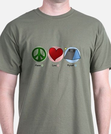 Peace Love Flyball T-Shirt