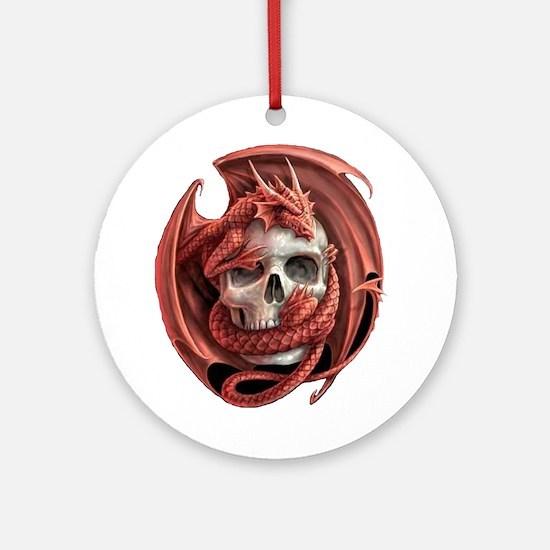 Dragon and Friend Ornament (Round)