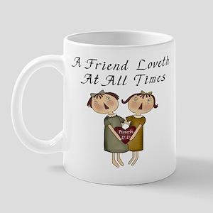 Probverbs 17:17 Mug