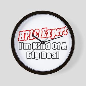 """HPLC Expert..Big Deal"" Wall Clock"