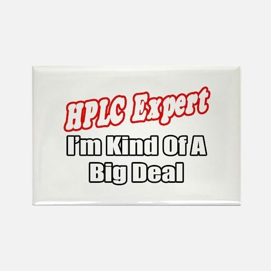 """HPLC Expert..Big Deal"" Rectangle Magnet"