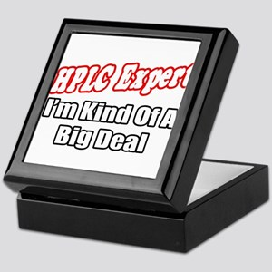 """HPLC Expert..Big Deal"" Keepsake Box"