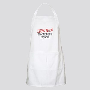 """HPLC Expert..Big Deal"" BBQ Apron"