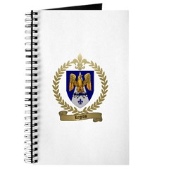 LEGROS Family Crest Journal