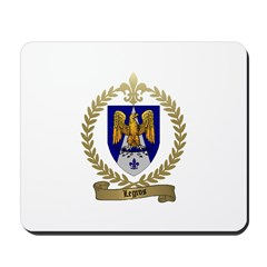 LEGROS Family Crest Mousepad