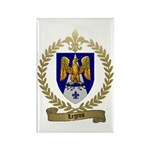 LEGROS Family Crest Rectangle Magnet