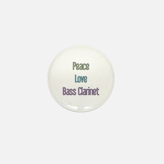 Bass Clarinet Gift Mini Button