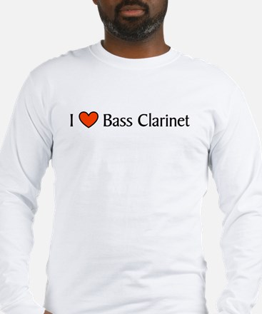 Bass Clarinet Gift Long Sleeve T-Shirt