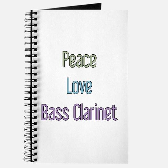 Bass Clarinet Gift Journal