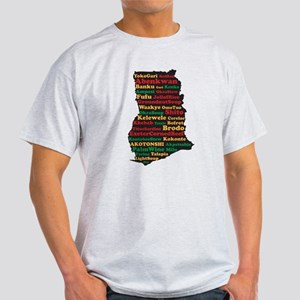 I Love Ghanaian Food Light T-Shirt