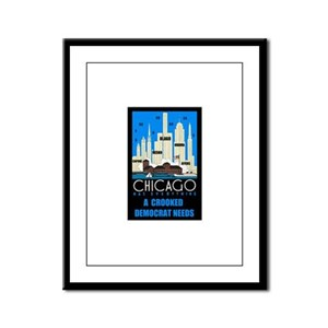 CAPONE WOULD BE PROUD Framed Panel Print