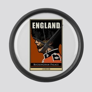 England Large Wall Clock