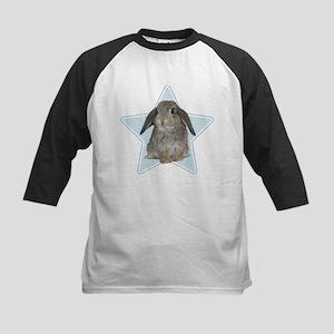 Baby bunny (blue) Kids Baseball Jersey