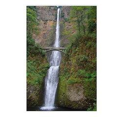 Multnomah Falls Postcards (Package of 8)