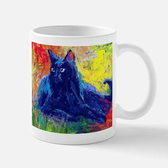 Black Cat 6 Mug
