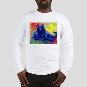 Black Cat 6 Long Sleeve T-Shirt
