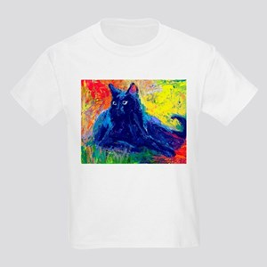 Black Cat 6 Kids Light T-Shirt