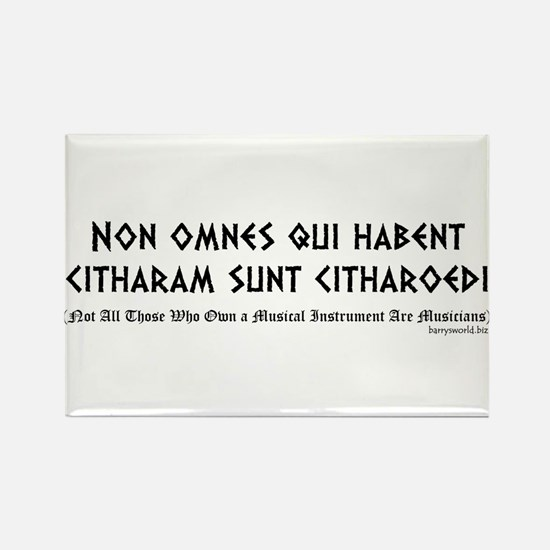 Non omnes Rectangle Magnet (10 pack)