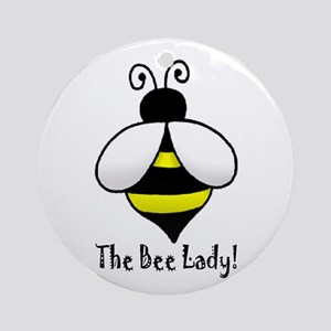 The Bee Lady Ornament (Round)