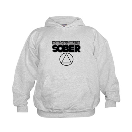 Now Available in Sober 2 Kids Hoodie