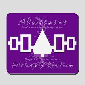 Akwesasne Mohawk Mousepad