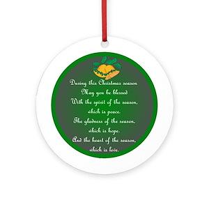 irish blessing ornaments cafepress