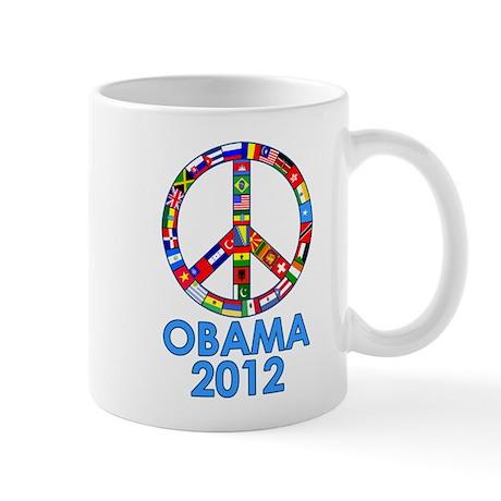 Re Elect Obama in 2012 Mug