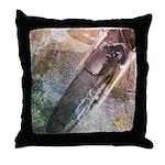 Ride Collage Throw Pillow