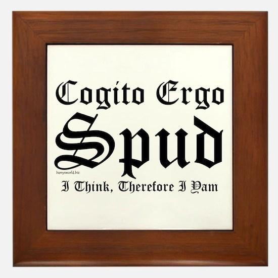 Cogito Framed Tile