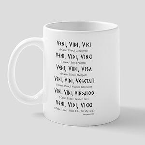 Veni, Vidi ... Mug