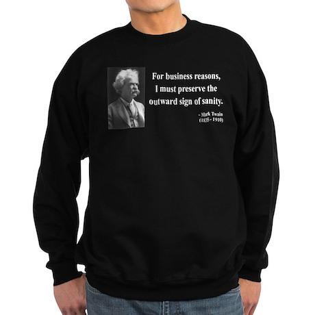 Mark Twain 26 Sweatshirt (dark)